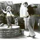 SHIRLEY TEMPLE AND BUDDY EBSEN 8x10 PHOTO PICTURE DANCING CODFISH BALL