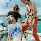 "DAVID CROSBY STEPHEN STILLS AND GRAHAM NASH AUTOGRAPHED 8""X10"" RPT PHOTO"