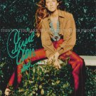 "CELINE DION AUTOGRAPHED 8""X10"" RPT PHOTO BEAUTIFUL PERFORMER"