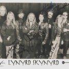 """LYNYRD SKYNYRD AUTOGRAPHED 8""""X10"""" RPT PHOTO CLASSIC ROCK N ROLL FREE BIRD"""