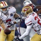 COLIN KAEPERNICK AND LAMICHAEL JAMES SAN FRAN 49ers AUTOGRAPHED 8X10 RPT PHOTO