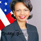 CONDOLEEZZA RICE US SECRETARY OF STATE AUTOGRAPHED 8x10 RPT PHOTO