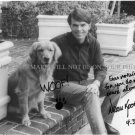 DEAN KOONTZ SIGNED AUTOGRAPHED 8x10 RP PHOTO WITH DOG GREAT AUTHOR
