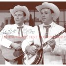 EARL SCRUGGS AND LESTER FLATT SIGNED AUTOGRAPHED 8x10 RP PHOTO FOGGY MOUNTAIN BOYS