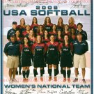 USA OLYMPIC SOFTBALL TEAM SIGNED AUTOGRAPHED 8x10 RP PHOTO OSTERMAN FINCH NUVEMAN BUSTOS +