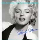 MARILYN MONROE SIGNED AUTOGRAPHED 8x10 RP PHOTO BEAUTIFUL