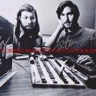 STEVE JOBS AND STEVE WOZNIAK AUTOGRAPHED 8x10 RP PHOTO APPLE COMPUTER LEGENDS