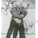 PAUL SIMON AND ART GARFUNKEL AUTOGRAPHED 8x10 RP PUBLICITY PHOTO