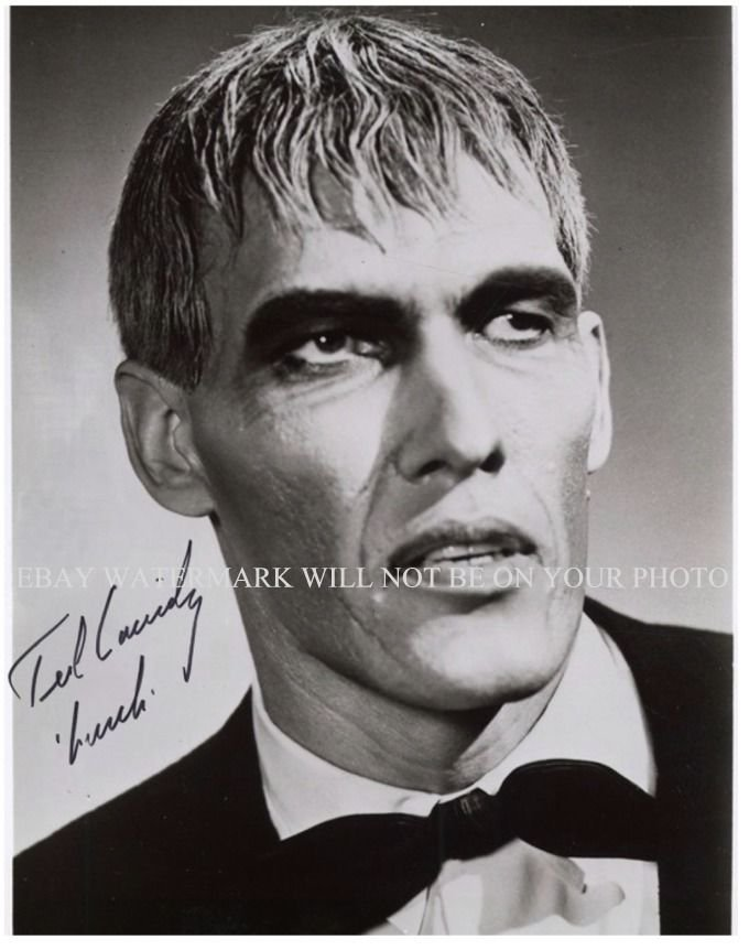 TED CASSIDY SIGNED AUTOGRAPHED 8x10 RP PHOTO LURCH THE ADDAMS FAMILY