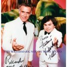 FANTASY ISLAND CAST AUTOGRAPHED 8x10 RP PHOTO  DA PLANE TATOO