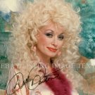 DOLLY PARTON AUTOGRAPHED 8x10 RP PHOTO BEAUTIFUL COUNTRY SINGER