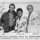 FABIAN FRANKIE AVALON AND BOBBY RYDELL AUTOGRAPHED 8x10 RP PHOTO CLASSIC TUNES