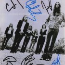 THE BLACK CROWES BAND AUTOGRAPHED 8x10 RP PHOTO