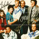 CHEERS CAST AUTOGRAPHED 8x10 RP PHOTO GREAT COMEDY SHOW