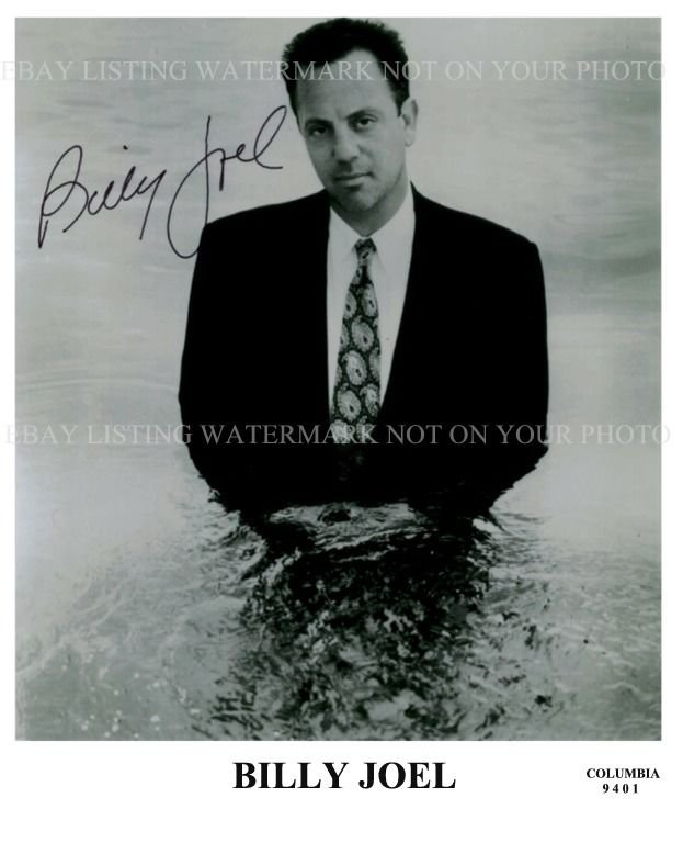 BILLY JOEL SIGNED AUTOGRAPHED 8x10 RP PHOTO THE PIANO MAN  INCREDIBLE MUSICIAN