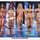 VICTORIAS SECRET MODELS ANGELS SIGNED AUTOGRAPHED 8x10 RP PHOTO KLUM BUNDCHEN LIMA AMBROSIO