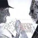 FREDDY VS JASON CAST SIGNED AUTOGRAPHED 8x10 RP PHOTO HALLOWEEN FRIDAY 13th