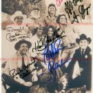 THE DUKES OF HAZZARD FULL CAST ALL 8 AUTOGRAPHED 8x10 RP PHOTO HAZARD