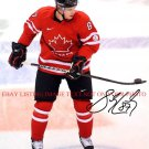SIDNEY CROSBY AUTOGRAPHED 8x10 RP PHOTO TEAM CANADA