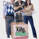 THE KING OF QUEENS CAST AUTOGRAPHED 8x10 RP PHOTO GREAT SHOW