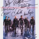 THE X MEN CAST SIGNED AUTOGRAPHED 8x10 RP PHOTO BY ALL 10 HALLE BERRY HUGH JACKMAN XMEN