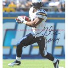 RYAN MATHEWS AUTO AUTOGRAPHED 8x10 RP PHOTO SAN DIEGO CHARGERS