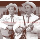 EARL SCRUGGS AND LESTER FLATT AUTOGRAPHED 8x10 RP PHOTO BLUEGRASS COUNTRY