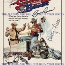 SMOKEY AND THE BANDIT CAST AUTOGRAPHED 8x10 RP PROMO PHOTO BURT REYNOLDS