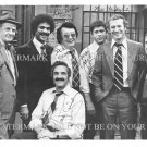 BARNEY MILLER CAST AUTOGRAPHED 8x10 RP PROMO PHOTO HAL LINDEN RON GLASS