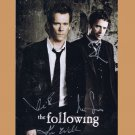 THE FOLLOWING CAST HAND SIGNED PHOTO POSTER SDCC KEVIN BACON JAMES PUREFOY +