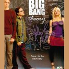 THE BIG BANG THEORY CAST AUTOGRAPHED SIGNED PHOTO JIM PARSONS KALEY CUOCO AND GALECKI