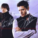 SUPERNATURAL CAST AUTOGRAPHED 8x10 RP PHOTO JARED PADALECKI AND JENSEN ACKLES