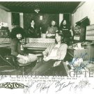 BOSTON FULL BAND SIGNED AUTOGRAPHED 8x10 RP PHOTO BRAD DELP TOM SCHOLZ SIB HASHIAN