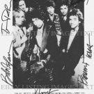 BOB DYLAN AND TOM PETTY AND THE HEARTBREAKERS AUTOGRAPHED 8x10 RP PHOTO