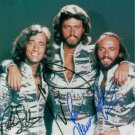 THE BEE GEES BAND AUTOGRAPHED 8x10 RP PHOTO BARRY ROBIN MAURICE GIBB DISCO