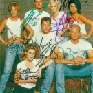 BEVERLY HILLS 90210 FULL CAST AUTOGRAPHED 8x10 RP PHOTO BH 90210