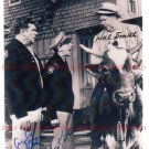 ANDY GRIFFITH DON KNOTTS AND HAL SMITH SIGNED AUTOGRAPHED 8x10 RP PHOTO