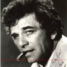 PETER FALK AUTOGRAPHED 8x10 RP PHOTO COLOMBO DETECTIVE