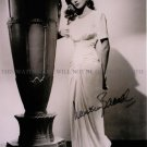 LAUREN BACALL AUTOGRAPHED 8x10 RP PHOTO VERY SEXY MALTESE FALCOLN