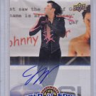 JOHNNY WEIR AUTO 2010 UPPER DECK WORLD OF SPORTS AUTOGRAPH CARD WINTER OLYMPICS