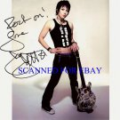 JOAN JETT SIGNED AUTOGRAPHED 8x10 RP PHOTO BLACKHEARTS & RUNAWAYS ROCK