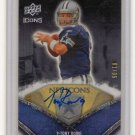 TONY ROMO SIGNED AUTO 2008 UPPER DECK NFL ICONS CARD RARE #1/35 AUTOGRAPH DALLAS