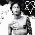 VILLE VALO SIGNED AUTOGRAPHED 8x10 RP PHOTO HIM H.I.M.