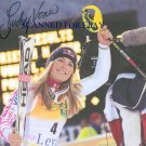 LINDSEY VONN SIGNED AUTOGRAPHED 8x10 RP PHOTO OLYMPICS SKIING GOLD MEDALIST