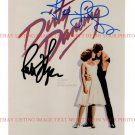 DIRTY DANCING CAST AUTOGRAPHED 8x10 RP PHOTO PATRICK SWAYZE AND JENNIFER GREY