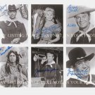 THE F TROOP FULL CAST SIGNED AUTOGRAPHED 8x10 RP PHOTO ALL 6 LARRY STORCH KEN BERRY