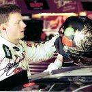 DALE EARNHARDT JR AUTOGRAPHED 8x10 RP PHOTO DAYTONA CHAMP DRIVER NASCAR