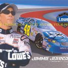 JIMMIE JOHNSON AUTOGRAPHED 8x10 RP PHOTO NASCAR LEGENDARY DRIVER
