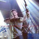 STEPHEN AMELL AUTOGRAPHED 8x10 RP PHOTO ARROW OLIVER QUEEN