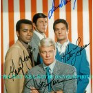 MISSION IMPOSSIBLE CAST SIGNED AUTOGRAPHED RP PETER GRAVES LEONARD NIMOY +